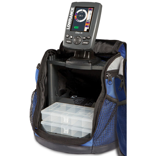 Lowrance Elite 4 HDI Ice Machine