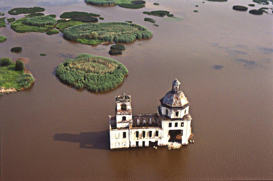 Крохинский храм, Озеро Белое, Вологодская область