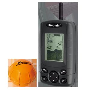Эхолот Rivotek Fisher 30 Wireless для рыбалки с берега