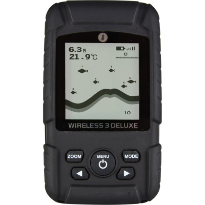 Эхолот JJ-connect Fisherman Wireless 3 Deluxe для рыбалки с