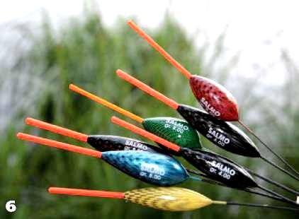Поплавки для ловли плотвы