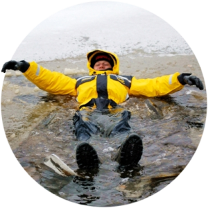 Костюм-поплавок