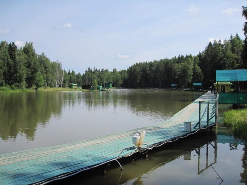 Мостик для рыбалки