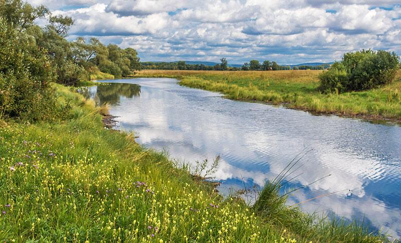 Малые реки весной