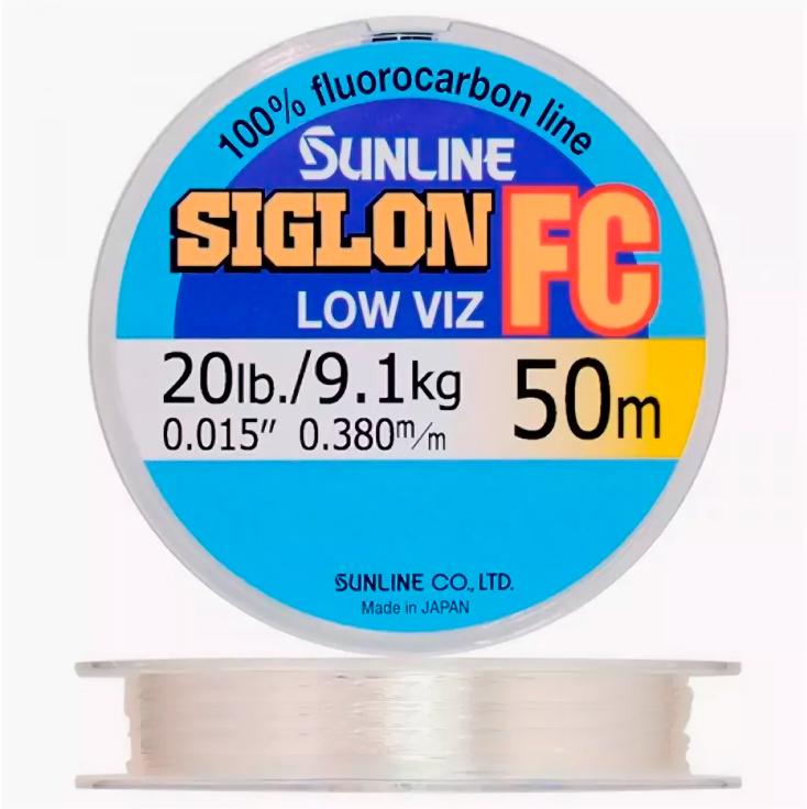 флюрокарбоновая леска Sunline Siglon.